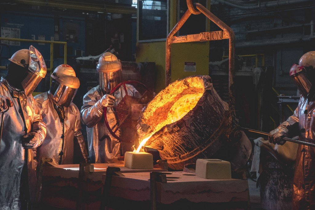 Foundry Completes First Columbia Class Pour