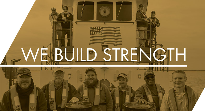 We Build Strength